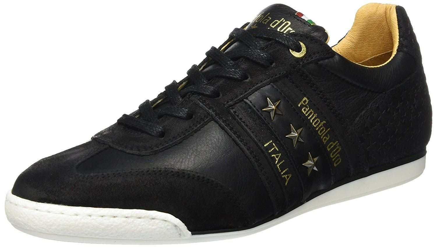 Pantofola d'Ora Imola Star Uomo Low Black Mens Trainers Quick View
